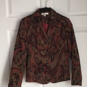 JACQUARD JACKET BY COLDWATER CREEK
